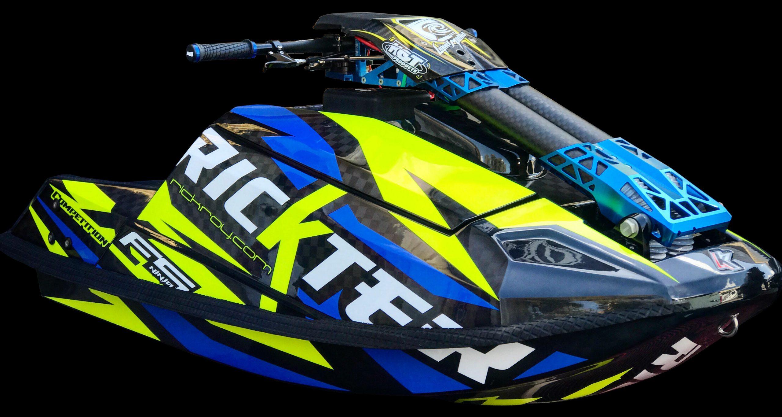 Xfs Ninja Competition Blue Neon Yellow