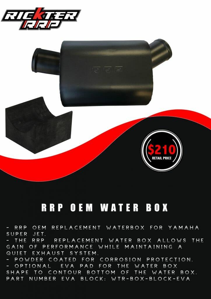 RRP OEM WATER BOX